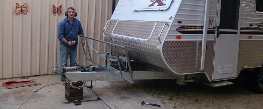 Perfect DIY Self Containment For UK Caravan  Part 2  YouTube